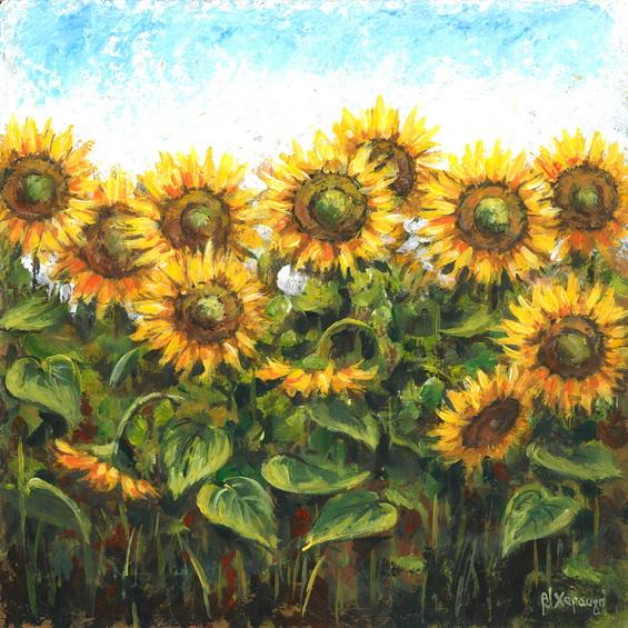 εκτυπωση, ελαιογραφια, εξοχη, εργα, εργο, ζωγραφικη, ηλιοτροπια, καμβας, Λουλούδια, μοντερνα, μοντερνο, μοντερνοι, πινακας, πινακες, πινακες σε καμβα, τοπια, τοπιο, φυση, Χαραυγή