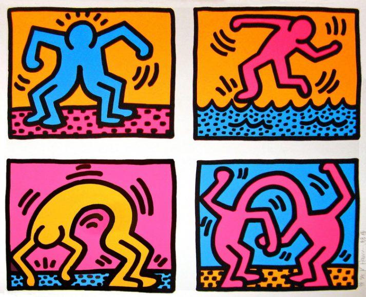 Keith Haring, εκτυπωσεις, εκτυπωση, εργα, εργο, ζωγραφικη, καμβας, μοντερνα, μοντερνο, μοντερνοι, πινακας, πινακες, πινακες σε καμβα